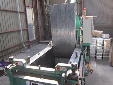 産業廃棄物 中間処理施設 圧縮 切断
